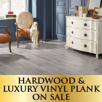 Hardwood & LVP on sale
